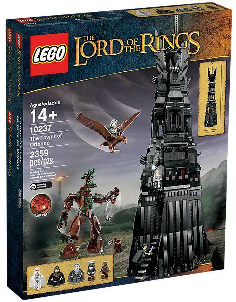 Lego The Lord Of The Rings 10237 Tower Of Orthanc lego the lord of the rings 10237 tower of orthanc valuebrick at