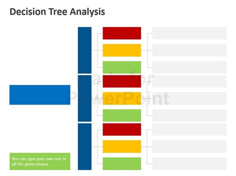Decision Tree Analysis Template Powerpoint Slides Powerpoint Decision Tree Template