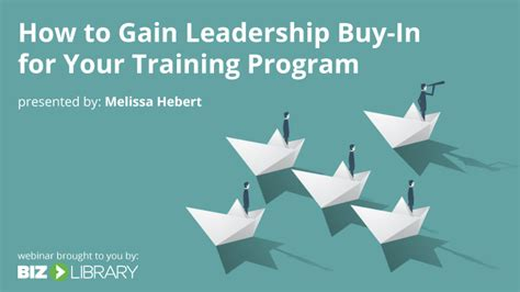 how to buy a trained 5 signs you leadership buy in for your program