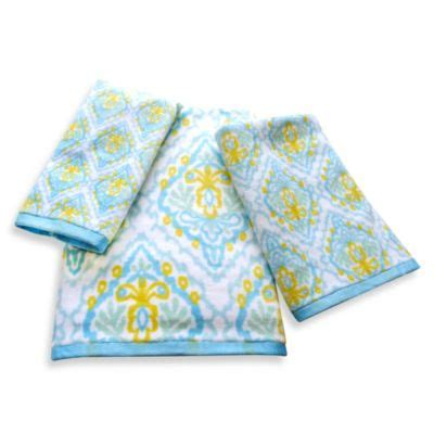 Bath Towels Patterned Buy Patterned Bath Towels From Bed Bath Beyond