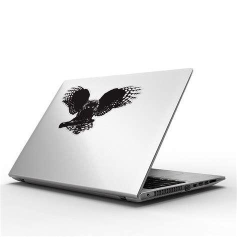 fractal owl vinyl sticker for macbook 13 15 vinyl