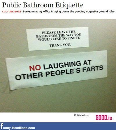 public bathroom rules public bathroom etiquette funny signs juxtapost