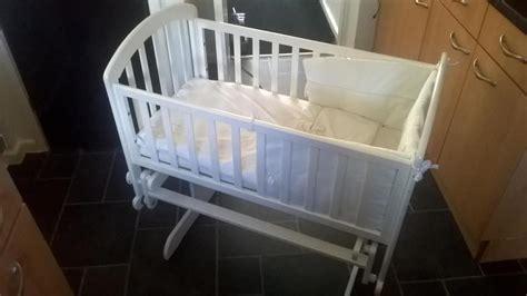 swinging baby crib vib swinging baby crib newport isle of wight wightbay