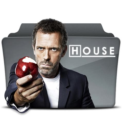 Dr House Series Dr House Icon Tv Series Folder Pack 1 4 Iconset Atty12