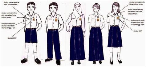Ischool Baju Sekolah Sd 10 ketentuan pakaian seragam sekolah siswa sd smp dan sma