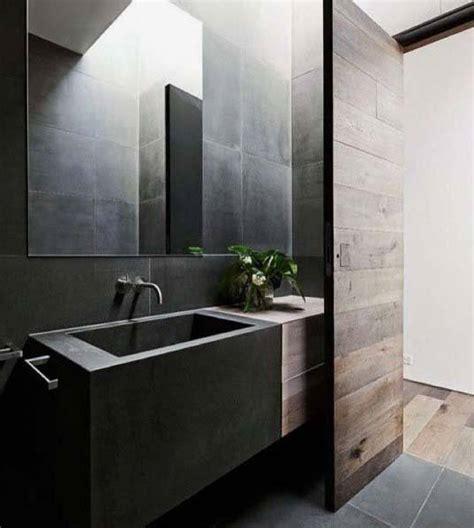 Modern Black Bathroom by Top 60 Best Black Bathroom Ideas Interior Designs