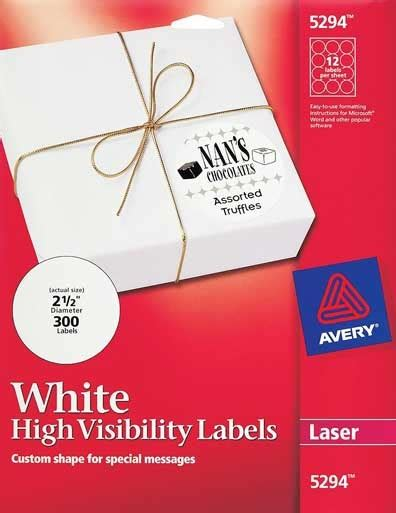avery 5294 template avery 174 5294 12 up labels pack of 300 for 7 43