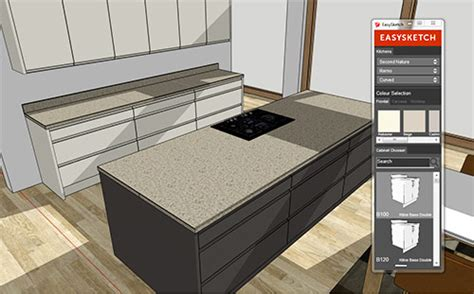 sketchup kitchen layout easysketch kitchen design software for sketchup