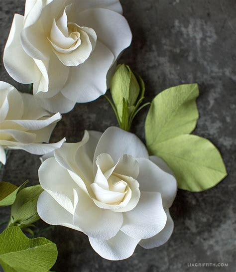 gardenia paper flower tutorial 3441 best crepe paper flowers images on pinterest crepe