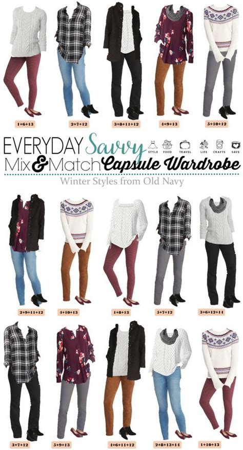mix match cute winter outfits   navy mini