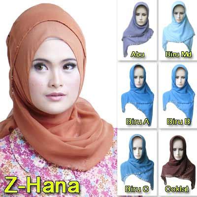 Jilbab Zoya Two In One Bluma Hijau rumah madani busana muslim jilbab zoya
