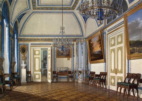 palace interior the glory of russian painting edward petrovich hau