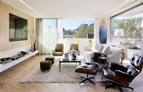celebrity homes interior design celebrity designer adam hunter s los angeles apartment