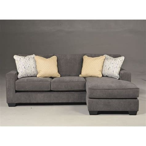 microfiber couch ashley furniture ashley hodan microfiber sofa chaise marble sectional ebay