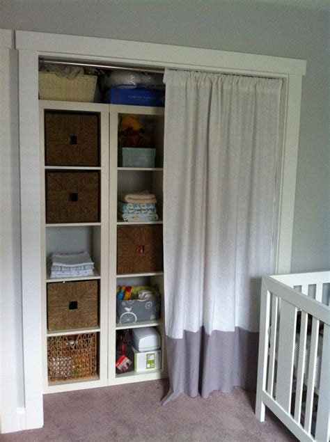 curtains on closets best 25 curtain closet ideas on pinterest curtain