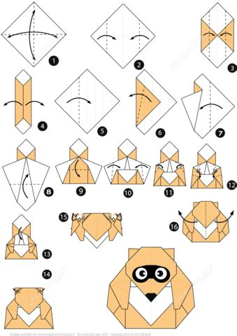 printable origami dog instructions how to make an origami racoon dog instructions free