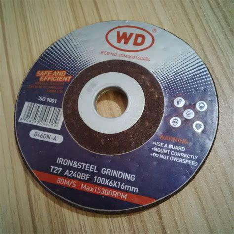 Wd Cutting Wheel Gerinda Potong 4 X 1 2mm Tajam Awet wd batu gerinda