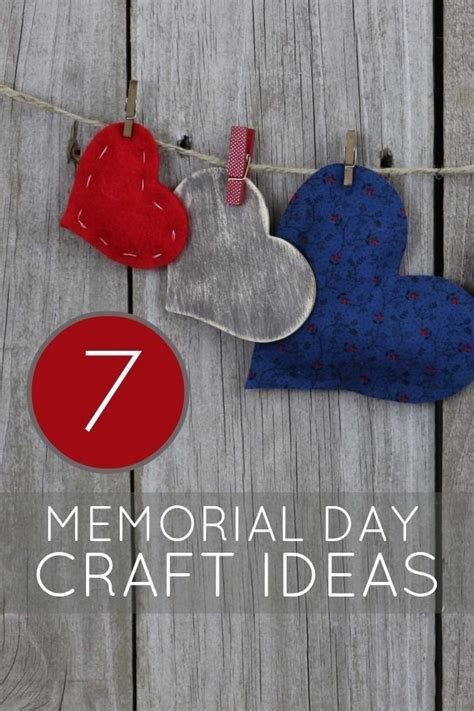 memorial day crafts unique memorial day crafts patriotic