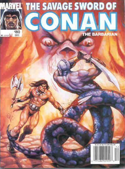savage sword of conan vol 1 180 marvel database fandom