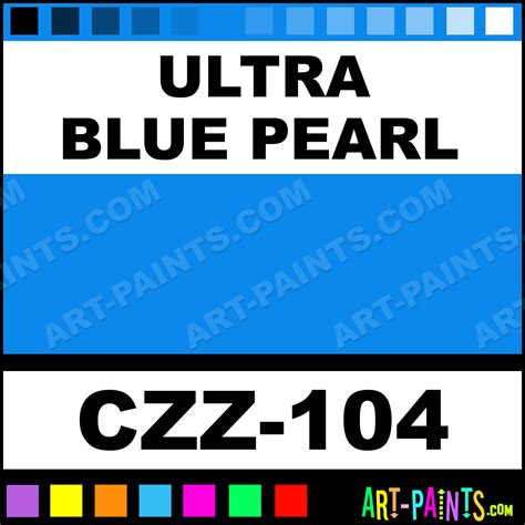 ultra blue pearl carizzmatics airbrush spray paints czz 104 ultra blue pearl paint ultra