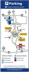 Orlando Airport Map by Orlando Airport Parking Guide Compare Mco Parking Options