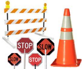 traffic safety road signs