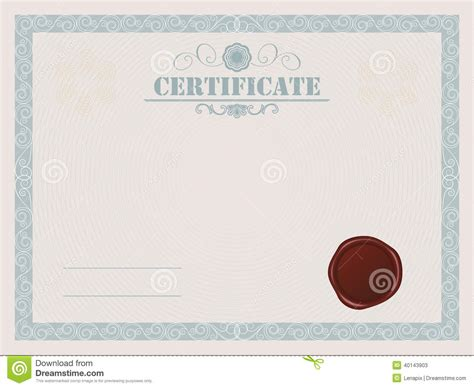 certificate seal template blank vector certificate search results calendar 2015