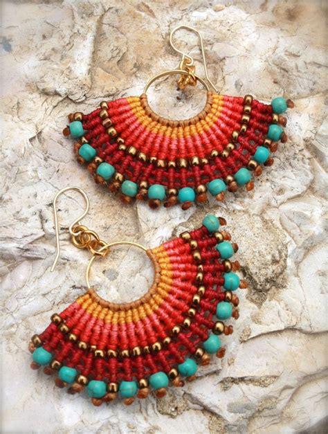 macrame earrings best 25 macrame earrings ideas on