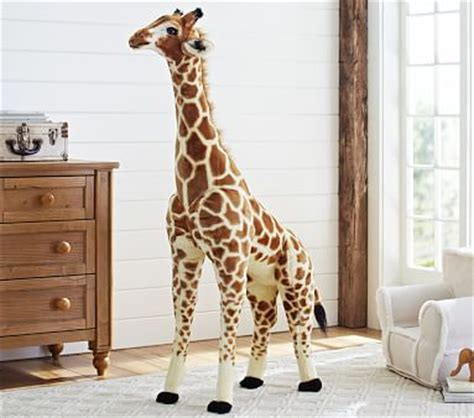 Melisa Oversized Kemeja Blue Big Size jumbo giraffe plush pottery barn