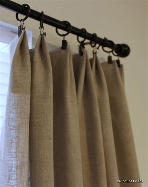 natural linen drapes gorgeous natural linen curtain drapery panels