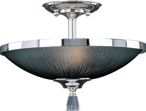 Maxim Lighting 32001btps Elite Contemporary Semi Flush Contemporary Semi Flush Mount Ceiling Light
