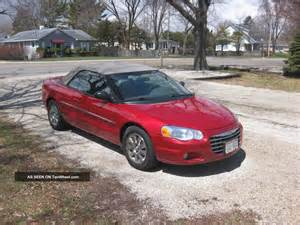 2005 Chrysler Convertible 2005 Chrysler Sebring Convertible Limited