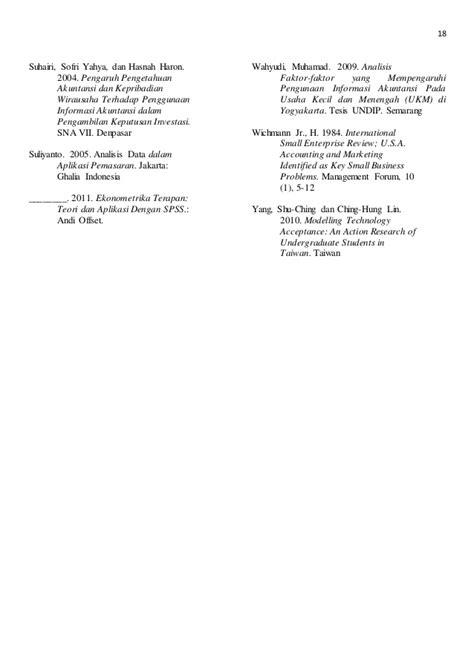 tesis akuntansi universitas diponegoro analisis pendidikan pemilik pemahaman akuntansi budaya