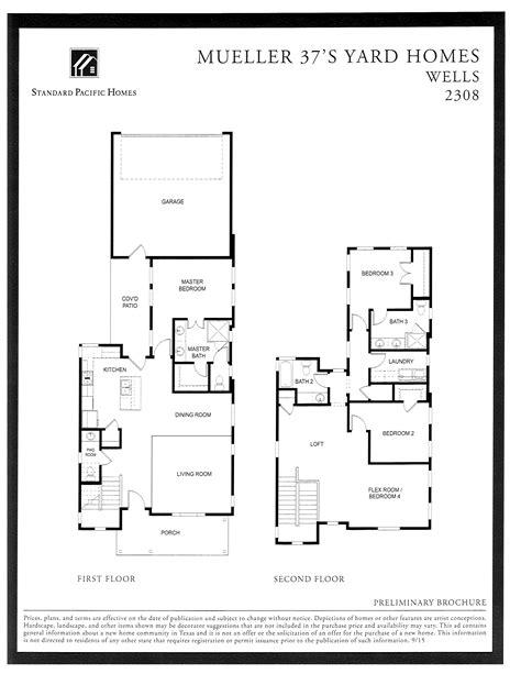 standard pacific home floor plans standard pacific homes floor plans