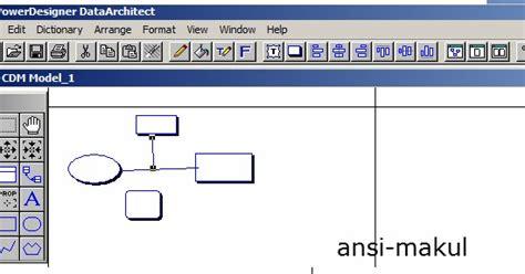 desain database terinci pengenalan power designer mumed media