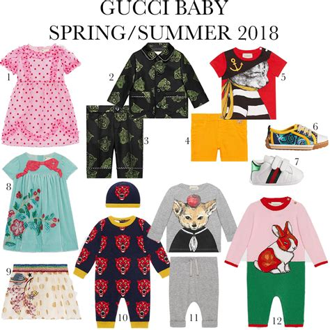 Gucci Collection Is Fierce Baby by Gucci Summer 2018 The