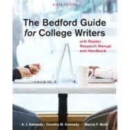 the reader your shoulder a handbook for writers of prose books the bedford guide for college writers with reader