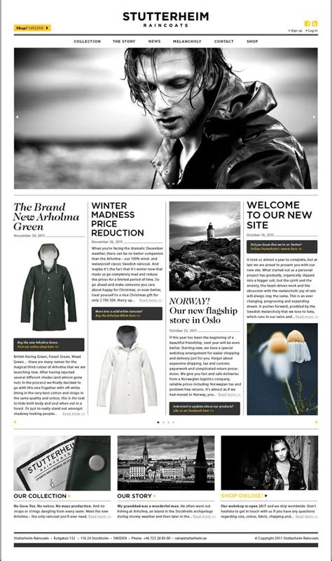news article layout design i know it s a website but it could still work for