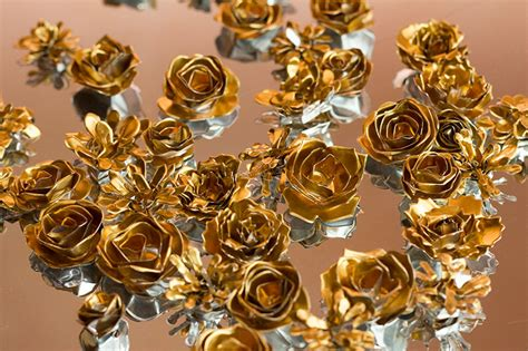 Handmade Metal - metal flower tutorial make your own diy metal flowers