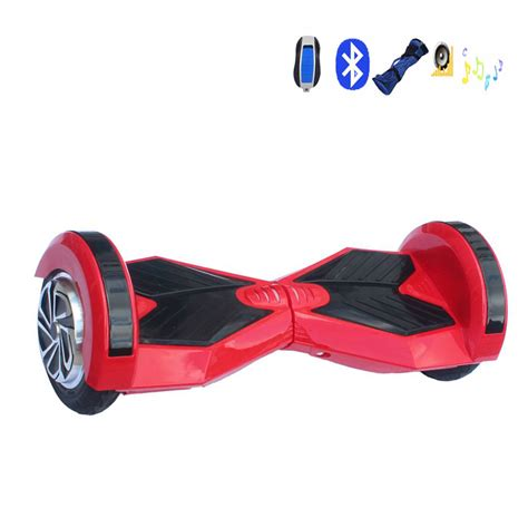 Hoverboard Smart Electric Scooter 2nd 8inch With Bluetooth Speaker electric hoverboard bluetooth speaker with remote two wheels smart self balancing scooters 8