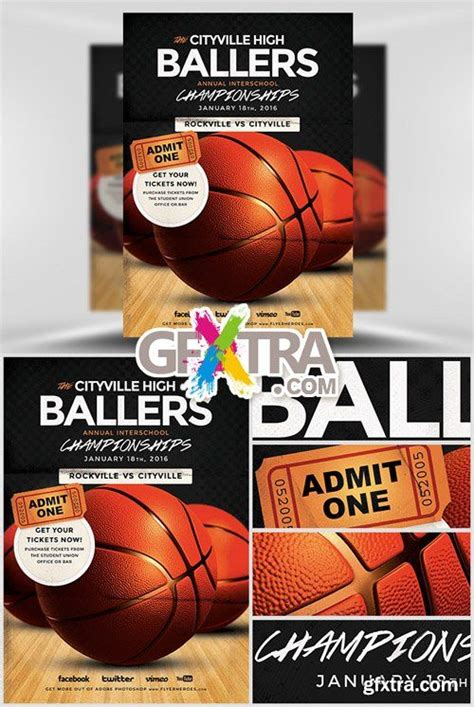 7 best images about basketball flyer on