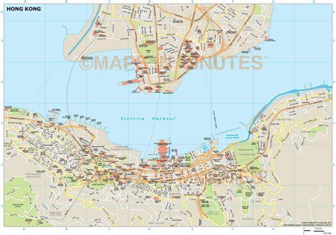 royalty free map royalty free hong kong illustrator vector format city map