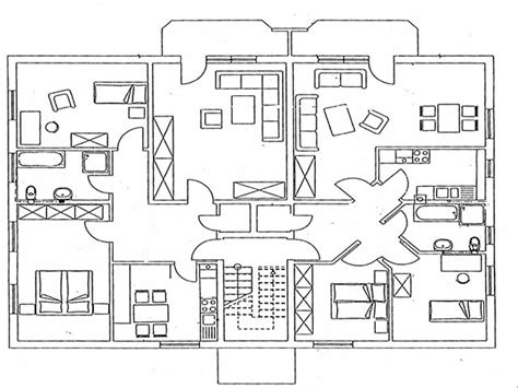 Wohnung Zeichnung by Alle Grundrisse Qm