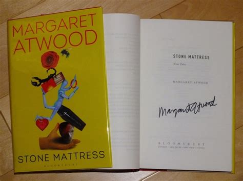 Margaret Atwood Mattress by Margaret Atwood Mattress Nine Tales Signed Edition Analecta Books Bespoke