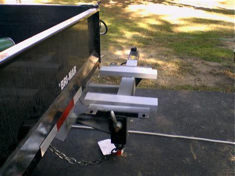 swing trailer hitch swing away hitch mounts lawnsite