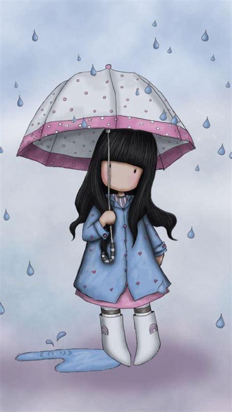 spring rain  love rainy days art cute art
