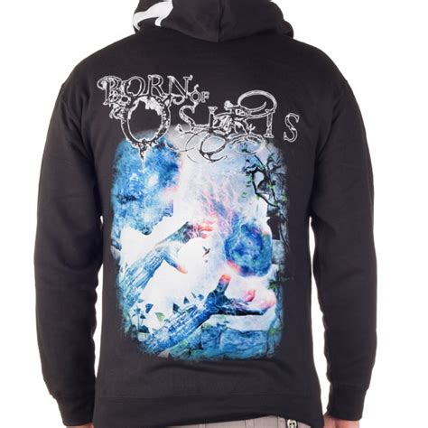born of osiris quot twda quot zip hoodie born of osiris