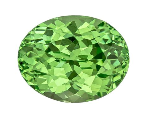 Bi Color Sapphire 2 21ct green garnet 2 21 carat oval cut gemstone