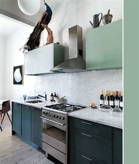 Peacock Kitchen by House Tour Peacocks Color Pops Coco Kelley Coco Kelley