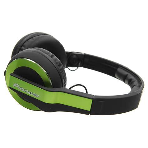 Headphone Pioneer Hdj 500 pioneer hdj 500 dj headphones green at gear4music